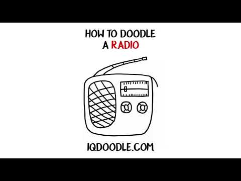 How to Draw a Radio (drawing tips)