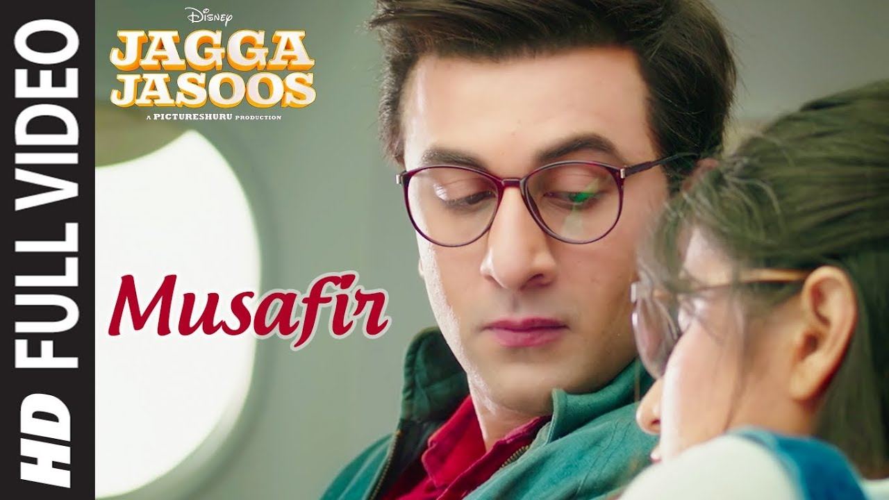 Musafir Full Video Song | Jagga Jasoos | Ranbir Kapoor, Katrina Kaif | Pritam