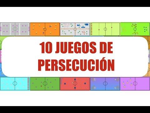 10 JUEGOS DE PERSECUCIÓN | Juegos Educación Física