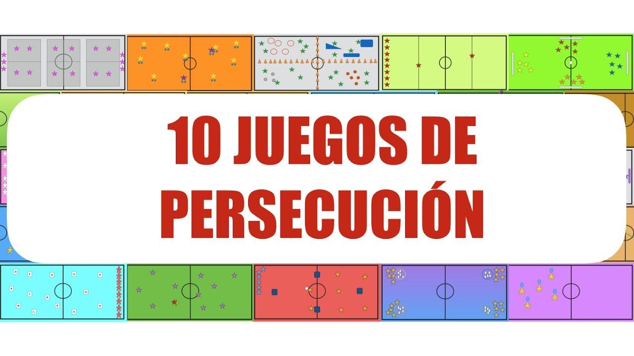 10 Juegos De Persecucion Juegos Educacion Fisica Youtube
