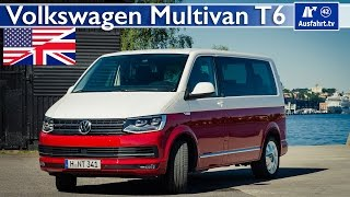 2015 Volkswagen Multivan T6 - Test, Test Drive and In-Depth Review (English)