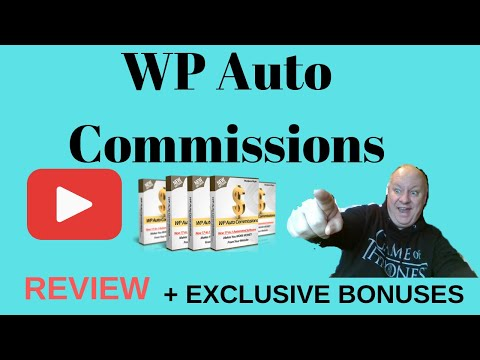 WP Auto Commissions Review - Plus EXCLUSIVE BONUSES - (WP Auto Commissions). http://bit.ly/2Zu27Ph