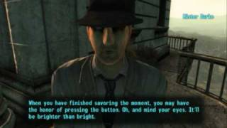 Fallout 3 - Blowing up Megaton Day Night on an Asus N10J Netbook