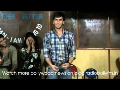 Ranveer Singh's First Day In Acting Class
