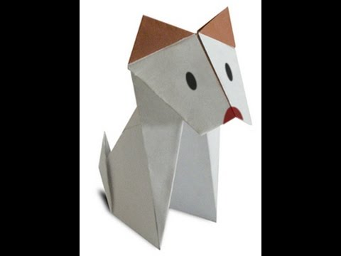 Step by step instructions how to make origami A Dog(body). | Kids ... | 360x480