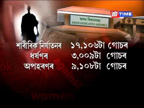 Crime against women on the rise in Assam | Failure of Law and Order system, says Opposition  Pratidi