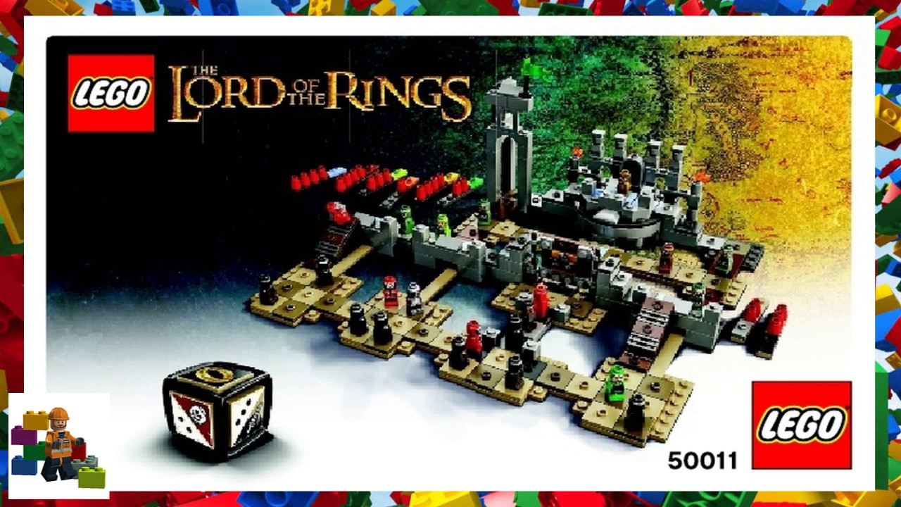 Lego Instructions Games 50011 The Battle Of Helms Deep Youtube