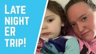 SADIE'S ER VISIT |Vlogtober Day 22-23
