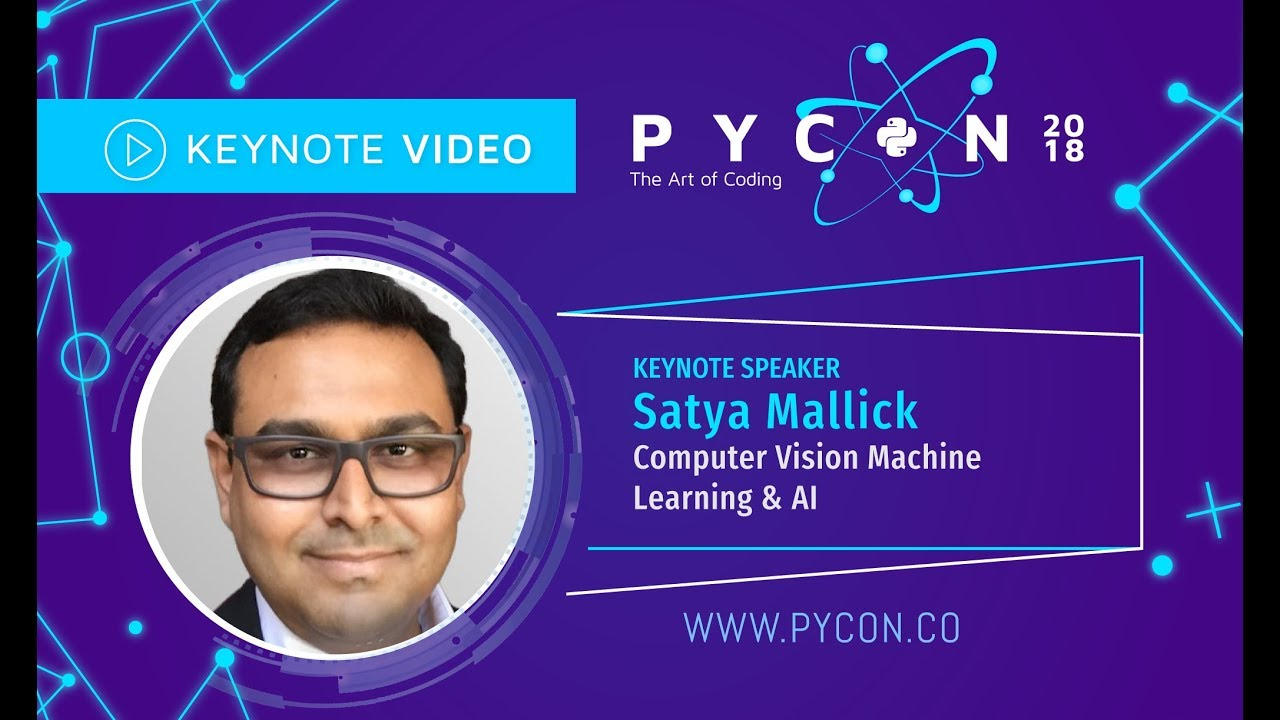 Image from Satya Mallick - Computer vision Machine learning & AI - PyCon Colombia 2018