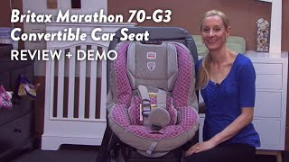 Britax Marathon 70-g3 Convertible Car Seat Review And Demo | Cloudmom