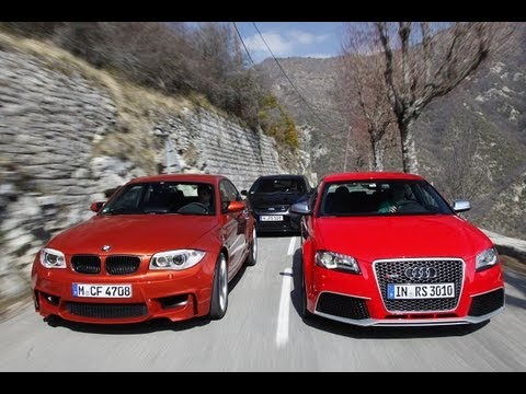 BMW 1er M Coupé, Ford RS 500, Audi RS 3 - Drei kompakte Sportler