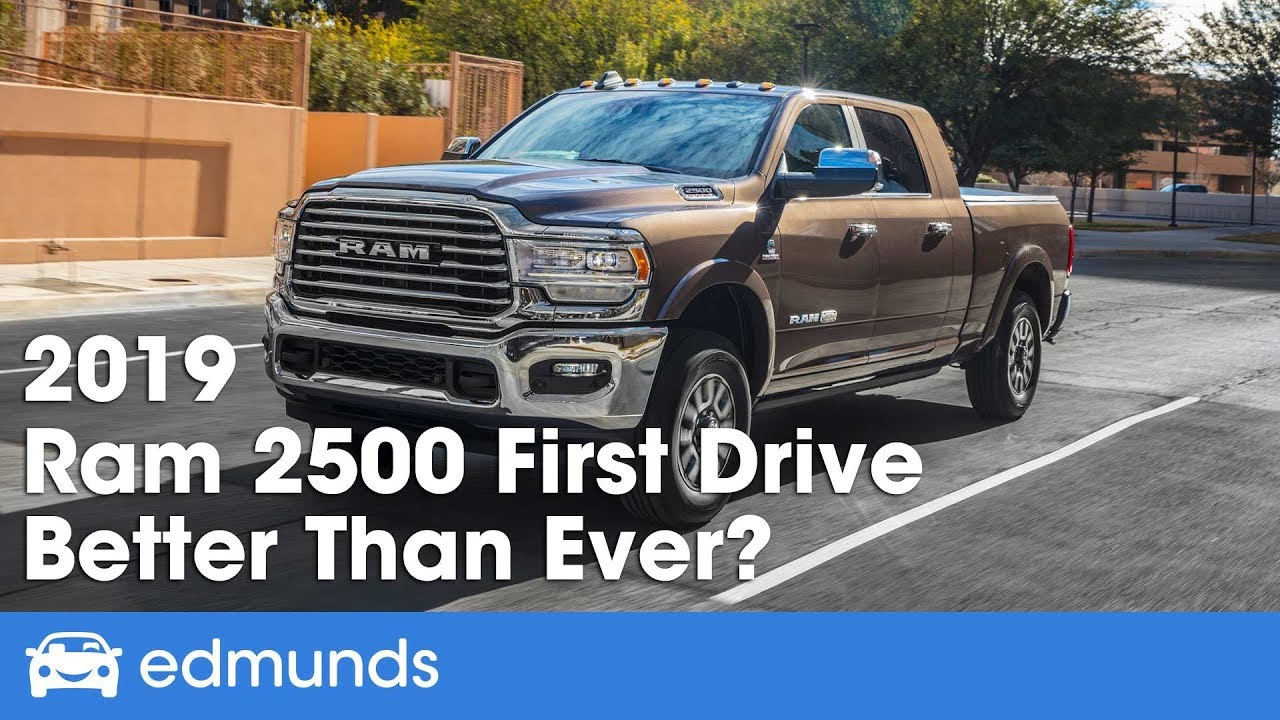 2020 Ram 2500 Review.2019 Ram 2500 Review And First Drive Better Than Ever Edmunds