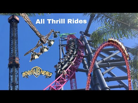 Download All Thrill Rides At Movieworld Australia On Ride Povs Mp3