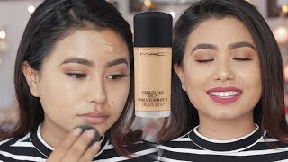 Mac Studio Fix Fluid Foundation Review And Demo | Beautynepal |