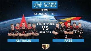 Astralis vs FaZe - Map 1 - Grand Finals - IEM Sydney 2018