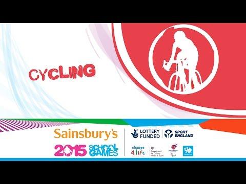 Sainsbury's 2015 School Games: Cycling Day 2