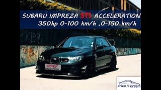 2006 Subaru Impreza STI Hawkeye 1.1 bar yaklaşık 350 hp... Rally'le...