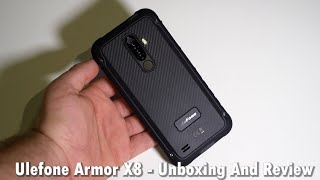 Ulefone Armor X8 - Best Value Rugged Phone? - Unboxing And Review
