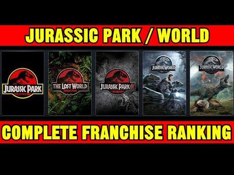 All 5 Jurassic Park / Jurassic World Movies Ranked (including Fallen Kingdom)