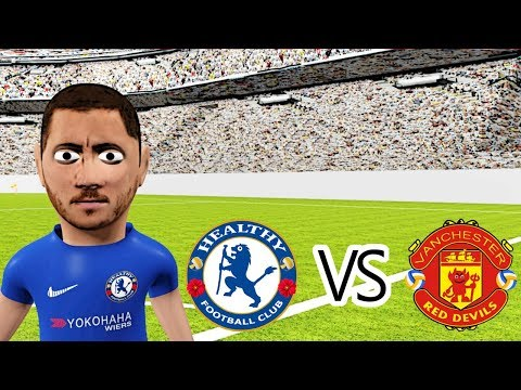 Chelsea vs Manchester United 1-0 | FA CUP FINAL (cartoon highlights)