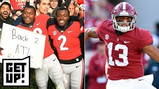 How can Georgia pull off an upset against Alabama in SEC Championship?   Get Up!