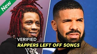8 Times Rappers Got Left Off Songs