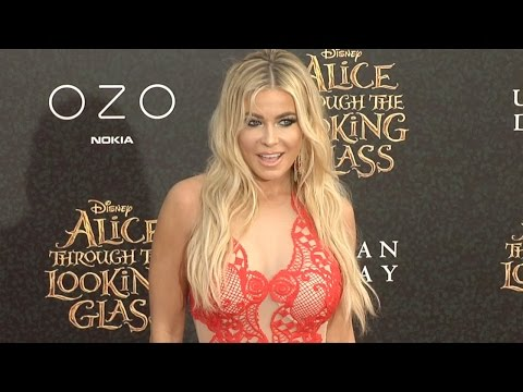 "Carmen Electra ""Alice Through the Looking Glass"" Premiere Red Carpet thumbnail"