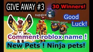 Give Away#3 Draw will be done tomorrow! Be fast! Only Roblox name needed! - Magnet Sim -Roblox