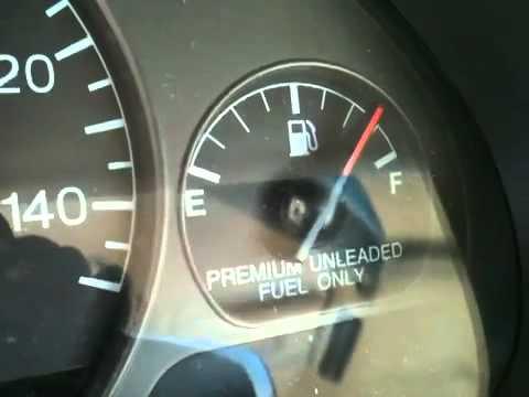 1996 Cadillac Seville Sls Indecisive Fuel Gauge