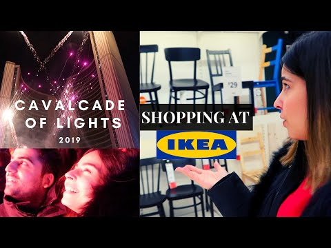 IKEA FURNITURE SHOPPING | Cavalcade Of Lights 2019, TORONTO | NEW IMMIGRANT IN CANADA