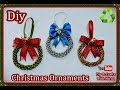 Diy How to make Christmas ornament Diy & Crafts with Mirna
