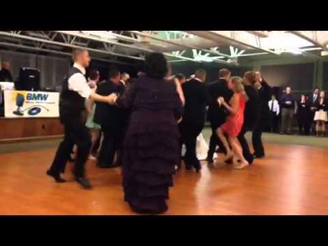 Jamie's wedding party dance