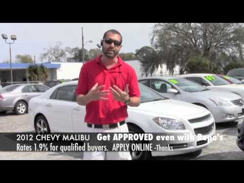 2012 CHEVY MALIBU LTZ- BAD CREDIT OK LOADED