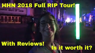 Is the HHN 2018 RIP Tour worth it? Full Tour with Reviews!