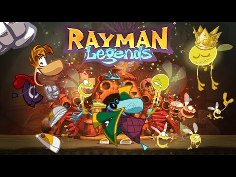 ¡1 millón de Lums! + Desbloqueando último héroe   Rayman Legends PS4 (1080p)