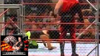 WWF ARMAGEDDON 1999 Kane vs X-Pac (STEEL CAGE MATC
