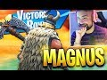 New Fortnite MAGNUS SKIN Gameplay..