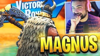 Nouveau Gameplay Fortnite MAGNUS SKIN.