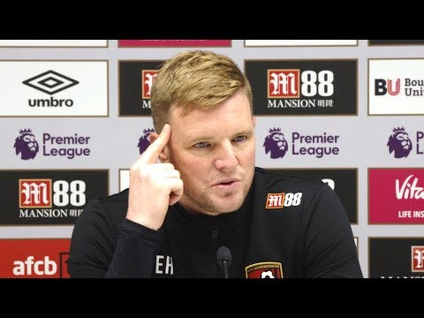 Eddie Howe Full Pre-Match Press Conference - Bournemouth v Manchester United - Premier League