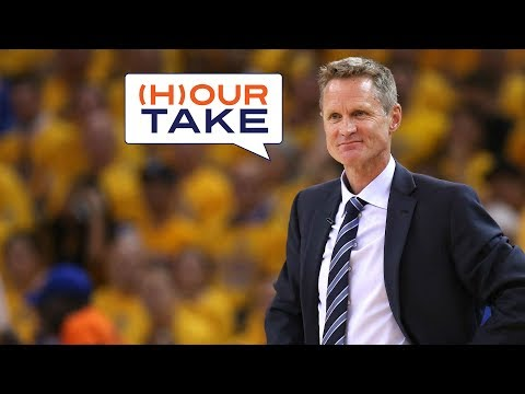 Hour Take - NBA Talk Is the Warriors Coach Steve Kerr the Best Coach In The NBA Right Now?