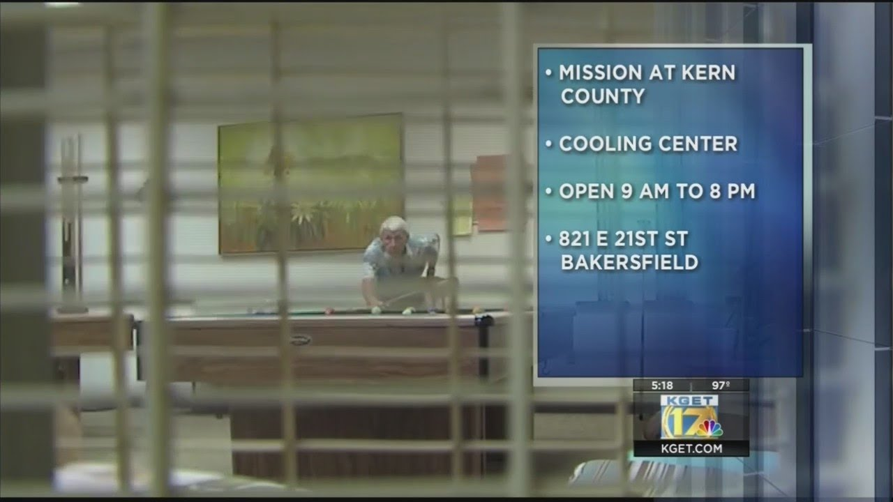 The Mission At Kern County U0026 39 S Cooling Center Now Open