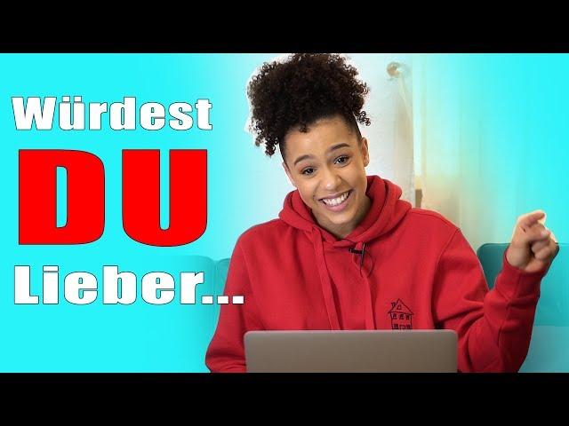 Würdest DU lieber...!!! | Abartige Fragen Teil 1 | Melissa Zerhau