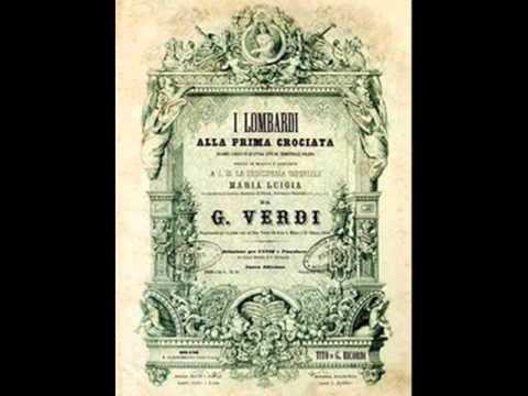 Verdi - I Lombardi alla Prima Crociata. Preludio III - Escena 2
