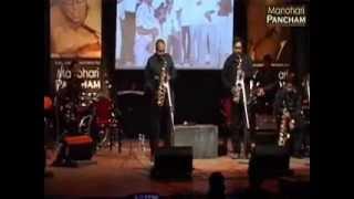 Yeh Dosti hum nahi - Alto Sax, live in Pune