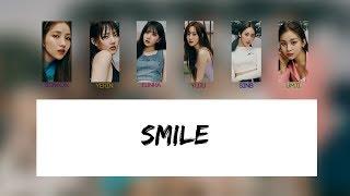 Gfriend (여자친구) - smile (좋은 말 할 때) [color coded lyrics rom ...