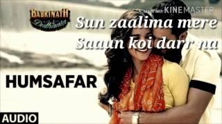 Humsafar Full Song With LYRICS | Badrinath Ki Dulhania | Alia bhatt, Varun Dhavan |Akhil Sachdeva