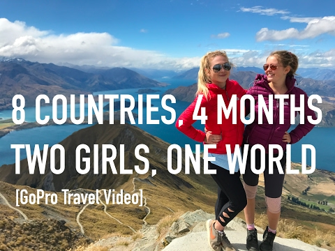 Gap Year Girls GoPro around the world - Travel Video - 2016/2017