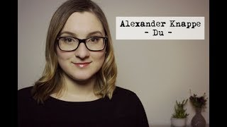 Alexander Knappe - Du | Sabrina Milch COVER