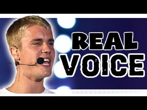 WITH vs WITHOUT AUTOTUNE [Justin Bieber]