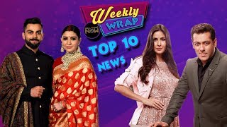 vuclip Anushka - Virat Reception, Salman Katrina Tiger Zinda Hai Newsmakers Of The Week | Weekly Wrap